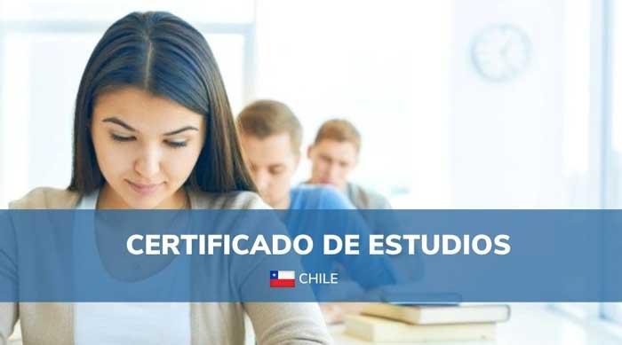 certificado de estudios mineduc