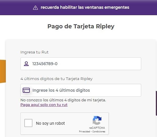 pagar tarjeta ripley online