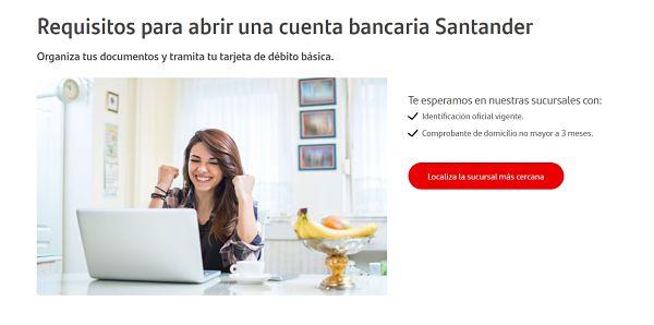 cuenta débito Santander