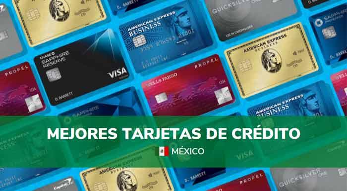 mejores tarjetas de crédito en México