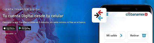 cuenta transfer digital banamex