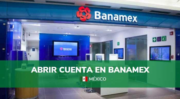 requisitos para abrir cuenta en Banamex