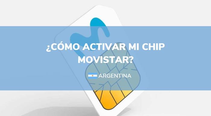 como activar chip movistar