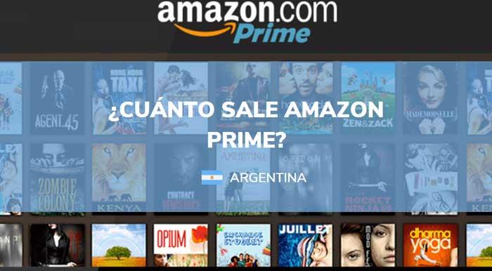 cuanto sale amazon prime en argentina