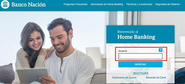 como pagar tarjeta nativa por home banking