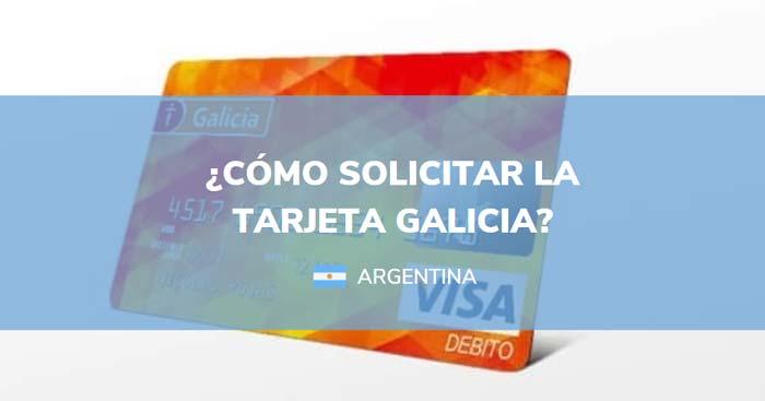 solicitar tarjeta galicia
